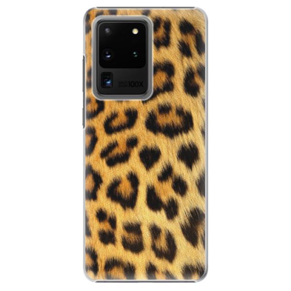 Plastové pouzdro iSaprio - Jaguar Skin - Samsung Galaxy S20 Ultra