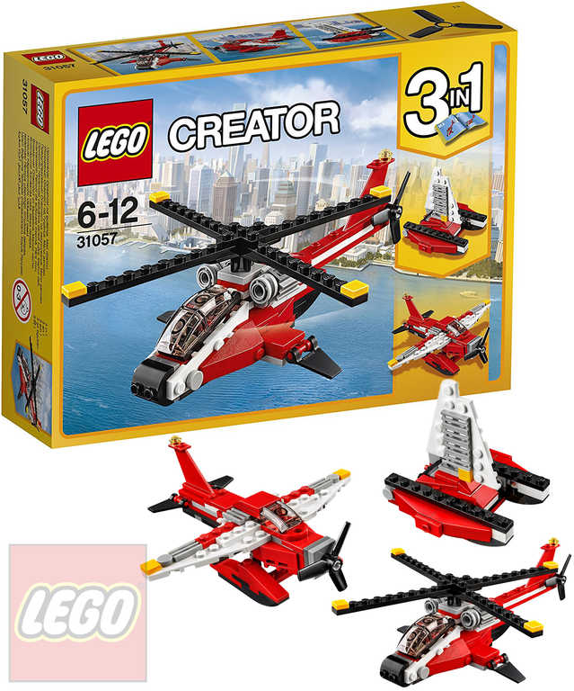 LEGO CREATOR Průzkumná helikoptéra 31057 STAVEBNICE