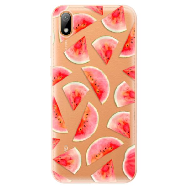 Odolné silikonové pouzdro iSaprio - Melon Pattern 02 - Huawei Y5 2019