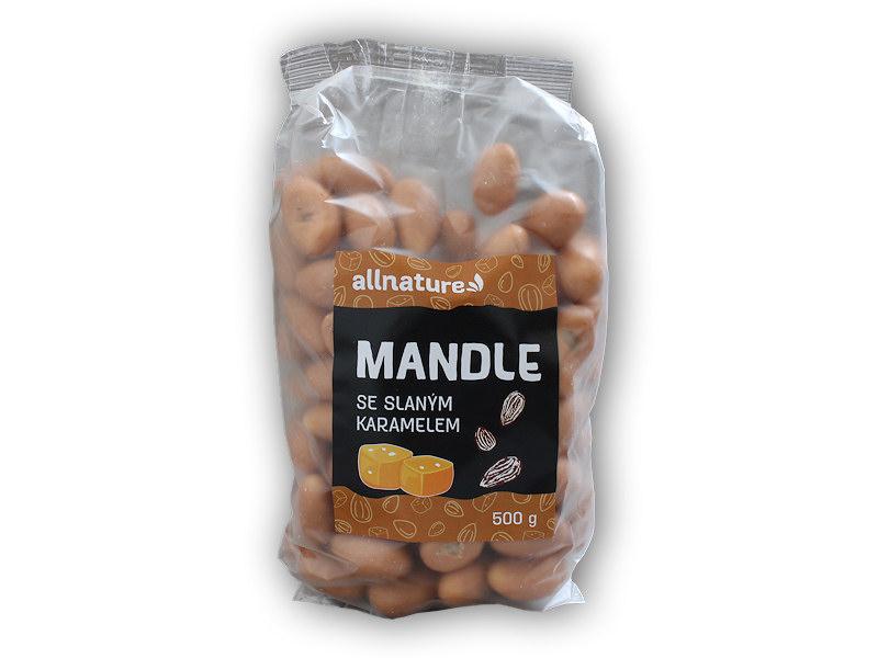 Mandle slaný karamel 500g