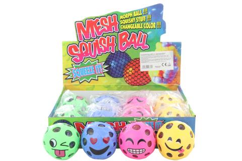 Antistresový míček s obličejem