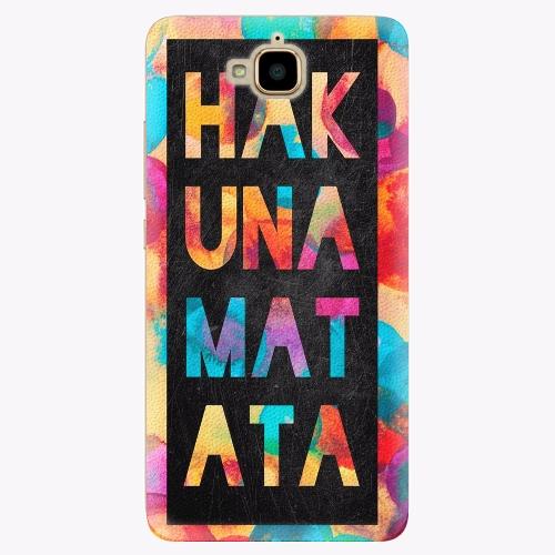 Plastový kryt iSaprio - Hakuna Matata 01 - Huawei Y6 Pro