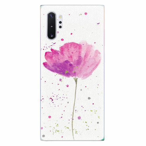 Silikonové pouzdro iSaprio - Poppies - Samsung Galaxy Note 10+