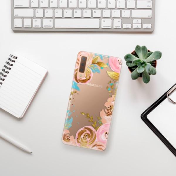 Odolné silikonové pouzdro iSaprio - Golden Youth - Samsung Galaxy A7 (2018)