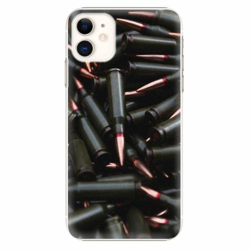 Plastový kryt iSaprio - Black Bullet - iPhone 11