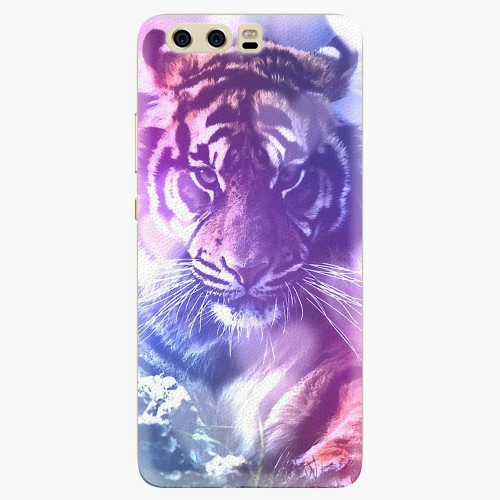 Plastový kryt iSaprio - Purple Tiger - Huawei P10