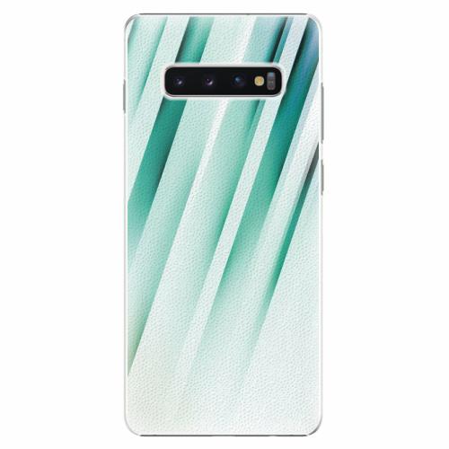 Plastový kryt iSaprio - Stripes of Glass - Samsung Galaxy S10+