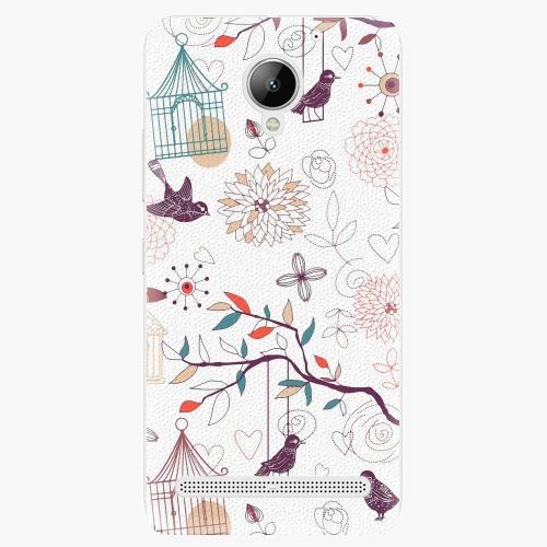 Plastový kryt iSaprio - Birds - Lenovo C2