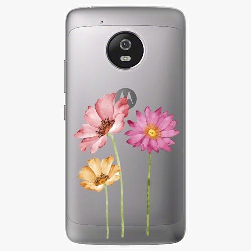 Plastový kryt iSaprio - Three Flowers - Lenovo Moto G5