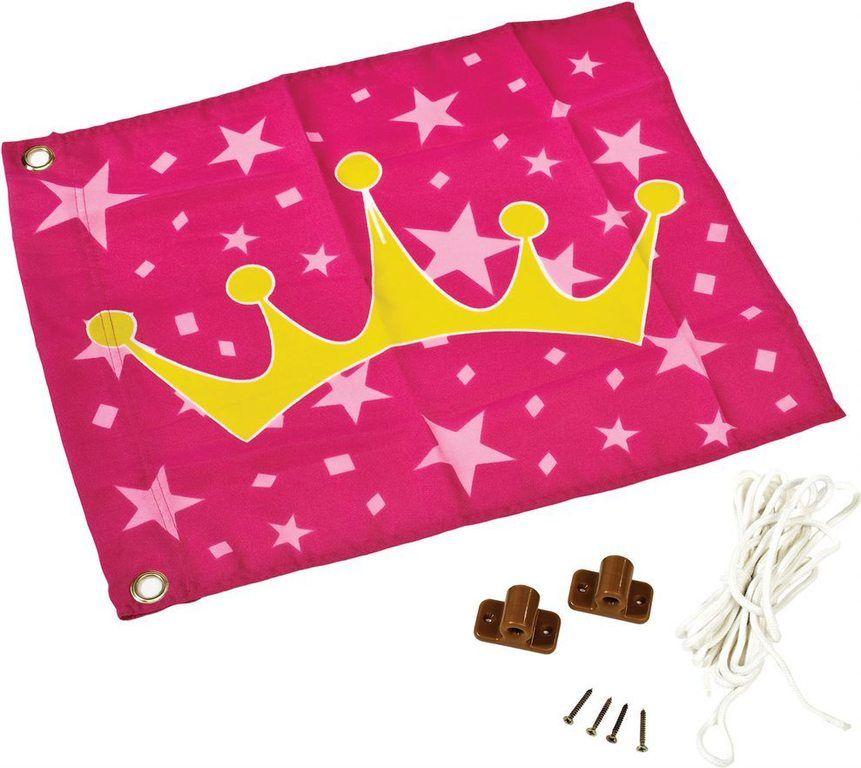 Vlajka pro princeznu - 45 x 55 cm