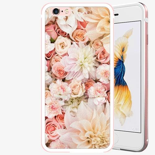 Plastový kryt iSaprio - Flower Pattern 06 - iPhone 6 Plus/6S Plus - Rose Gold