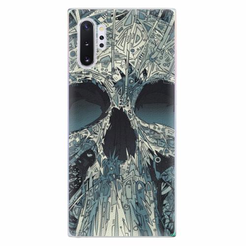 Silikonové pouzdro iSaprio - Abstract Skull - Samsung Galaxy Note 10+
