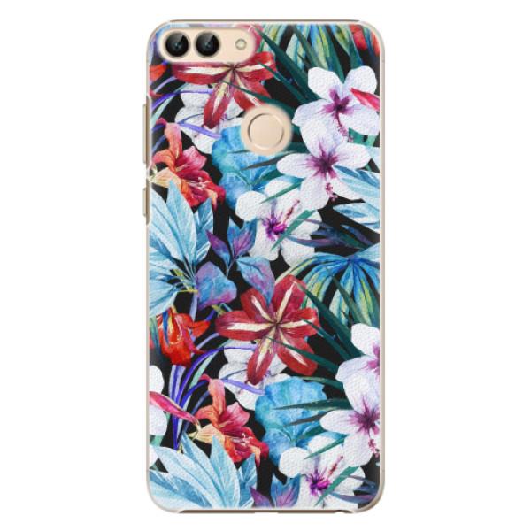 Plastové pouzdro iSaprio - Tropical Flowers 05 - Huawei P Smart