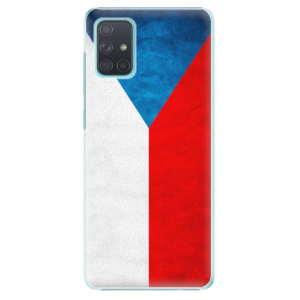 Plastové pouzdro iSaprio - Czech Flag - Samsung Galaxy A71