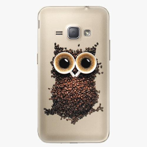Plastový kryt iSaprio - Owl And Coffee - Samsung Galaxy J1 2016