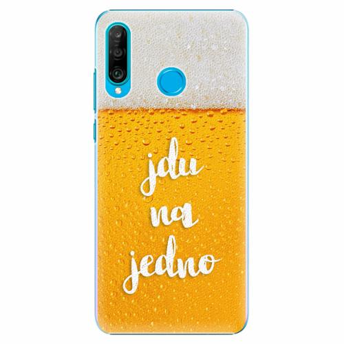 Plastový kryt iSaprio - Jdu na jedno - Huawei P30 Lite