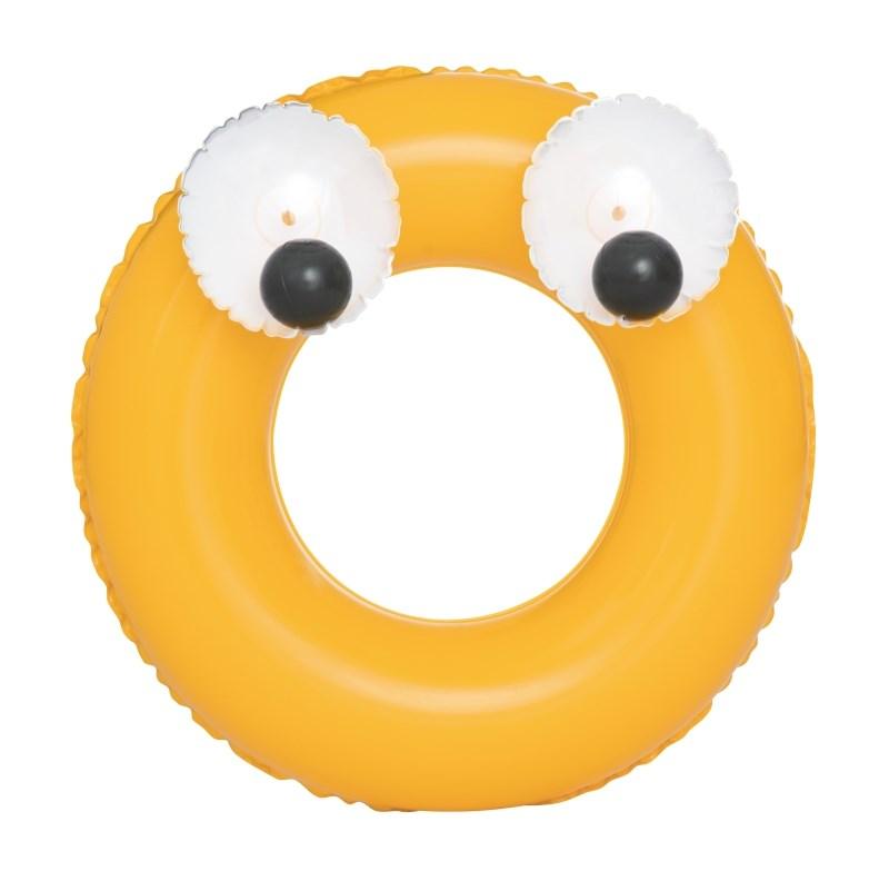 Dětský nafukovací kruh Bestway Big Eyes - žlutá