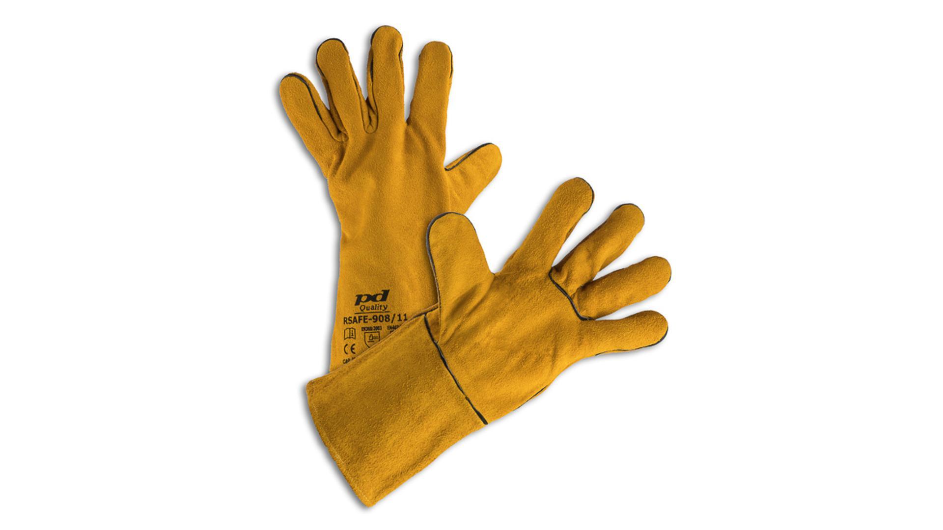 RSAFE-98/11 Svařovací rukavice žluté