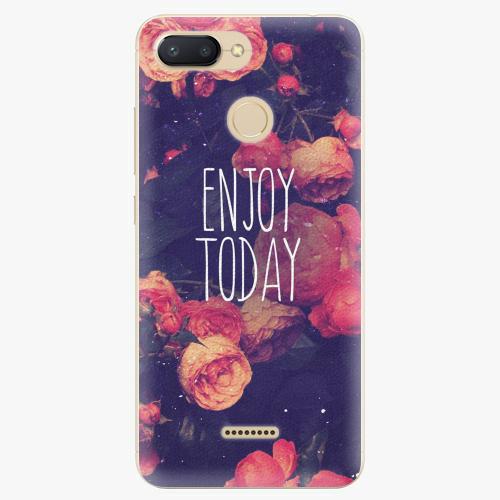 Silikonové pouzdro iSaprio - Enjoy Today - Xiaomi Redmi 6