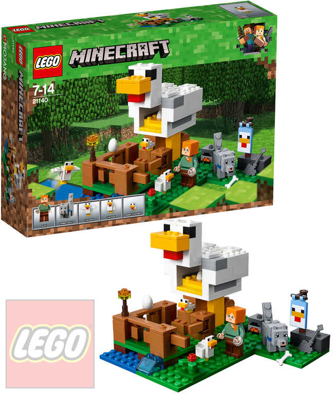 LEGO MINECRAFT Kurník STAVEBNICE 21140