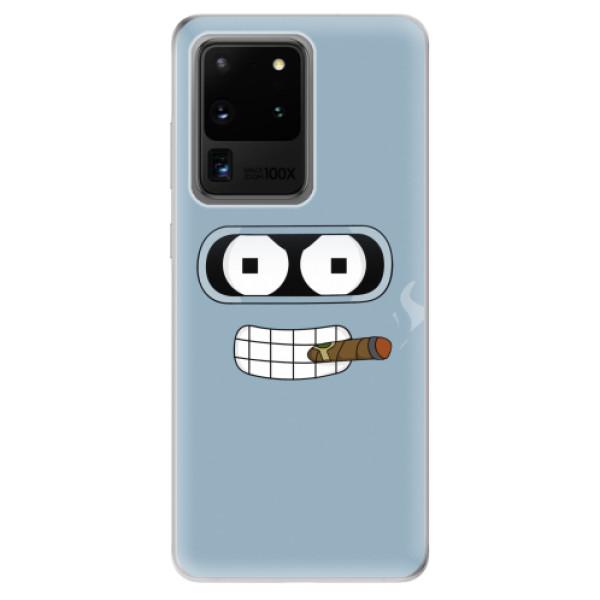 Odolné silikonové pouzdro iSaprio - Bender - Samsung Galaxy S20 Ultra