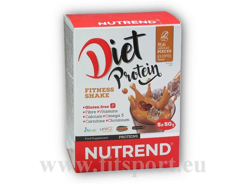 Diet Protein Fitness Shake 5x50g
