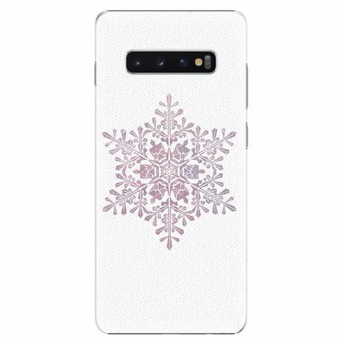 Plastový kryt iSaprio - Snow Flake - Samsung Galaxy S10+