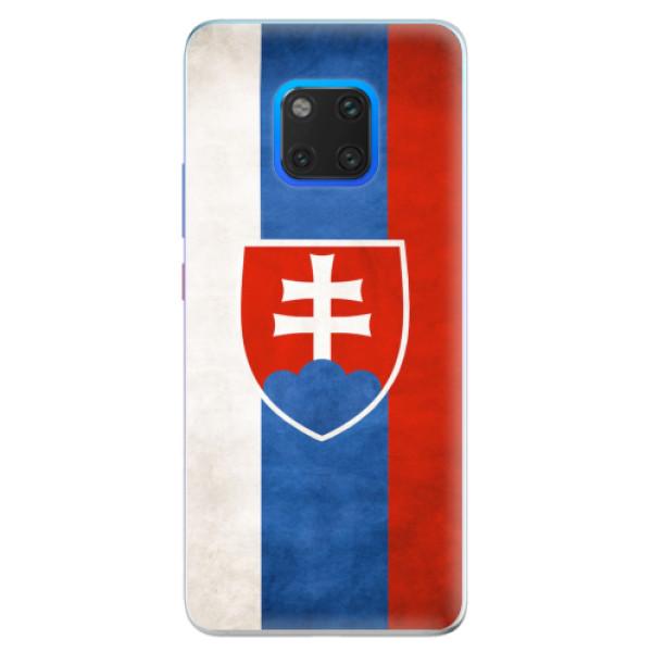 Silikonové pouzdro iSaprio - Slovakia Flag - Huawei Mate 20 Pro