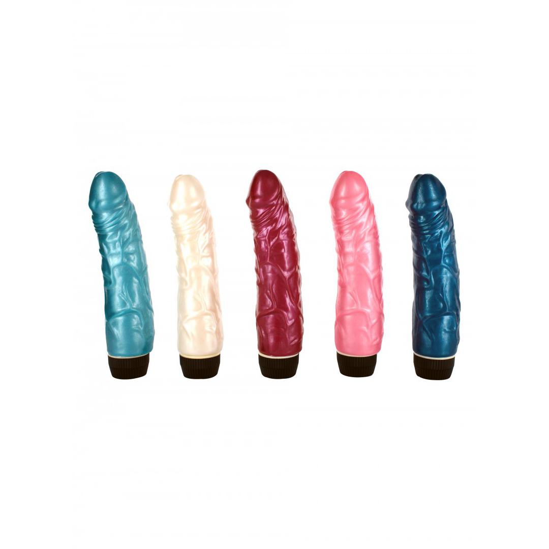 Sada 5 barevných vibrátorů cena za 1 ks