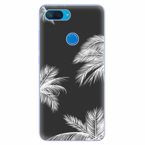 Silikonové pouzdro iSaprio - White Palm - Xiaomi Mi 8 Lite