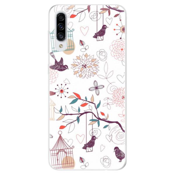 Odolné silikonové pouzdro iSaprio - Birds - Samsung Galaxy A30s