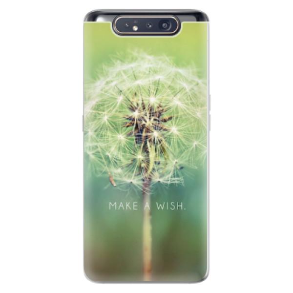 Odolné silikonové pouzdro iSaprio - Wish - Samsung Galaxy A80