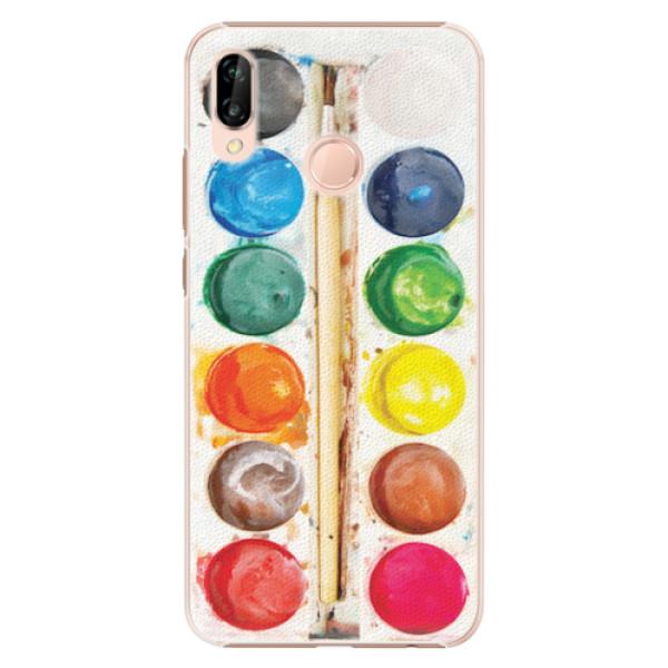 Plastové pouzdro iSaprio - Watercolors - Huawei P20 Lite