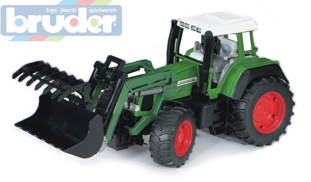 BRUDER 02062 (2062) Traktor FENDT Vario s čelním nakladačem
