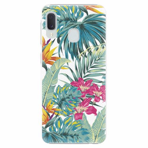 Plastový kryt iSaprio - Tropical White 03 - Samsung Galaxy A20e