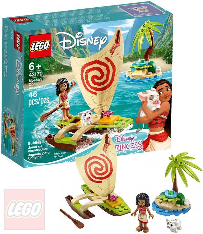 LEGO PRINCESS Vaianino oceánské dobrodružství 43170 STAVEBNICE