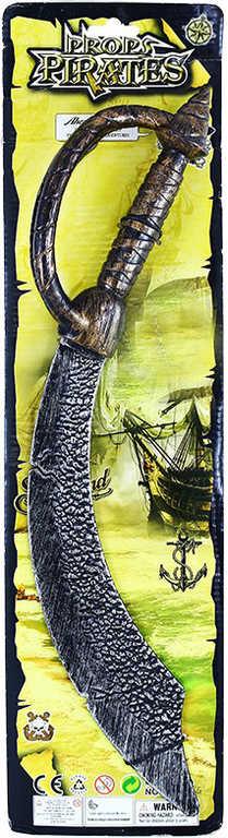 KARNEVAL Meč pirátský 50cm plast KARNEVALOVÝ DOPLNĚK