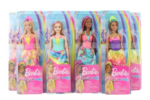 Barbie Kouzelná princezna asst GJK12