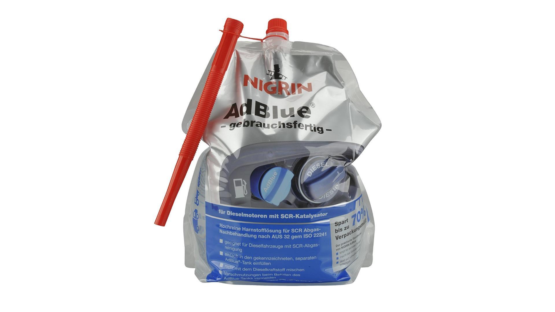 NIGRIN AdBlue 5L Additive for diesel