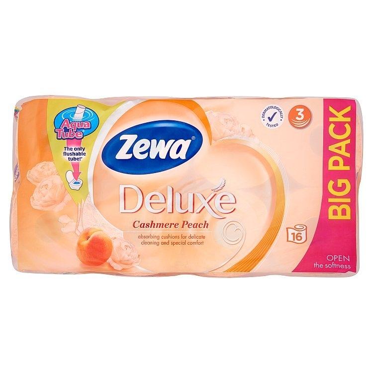Deluxe cashmere peach toaletní papír, parfémovaný, 3vrstvý 16x150