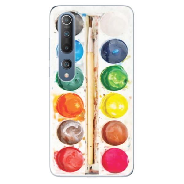 Odolné silikonové pouzdro iSaprio - Watercolors - Xiaomi Mi 10 / Mi 10 Pro