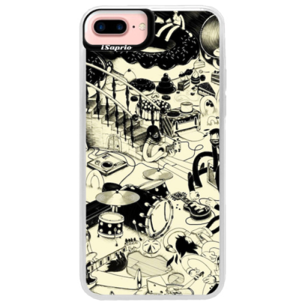 Neonové pouzdro Pink iSaprio - Underground - iPhone 7 Plus
