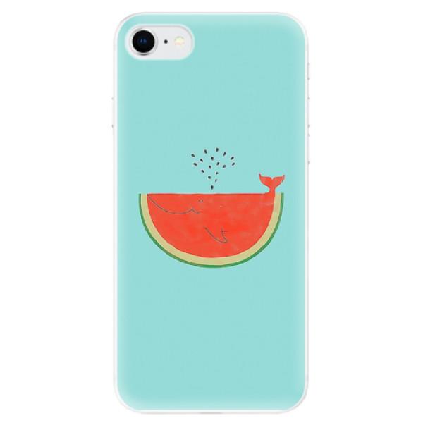 Odolné silikonové pouzdro iSaprio - Melon - iPhone SE 2020
