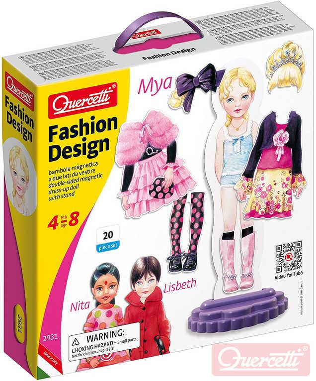 QUERCETTI Fashion Design Mya magnetické šablony obleč panenku