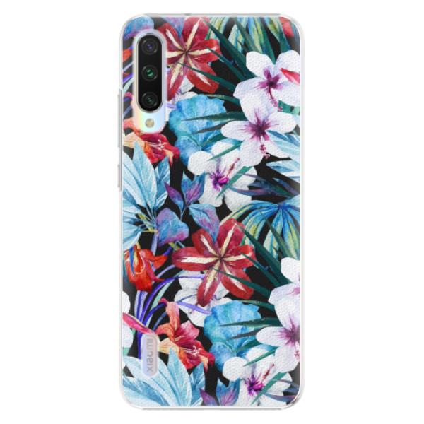 Plastové pouzdro iSaprio - Tropical Flowers 05 - Xiaomi Mi A3