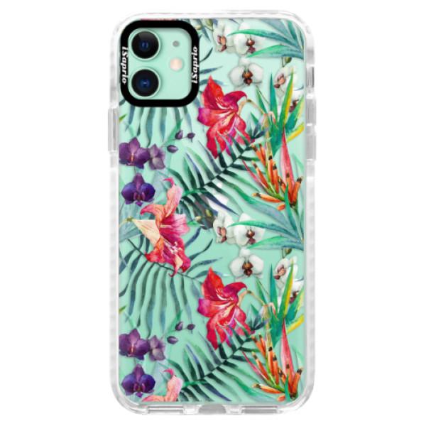 Silikonové pouzdro Bumper iSaprio - Flower Pattern 03 - iPhone 11