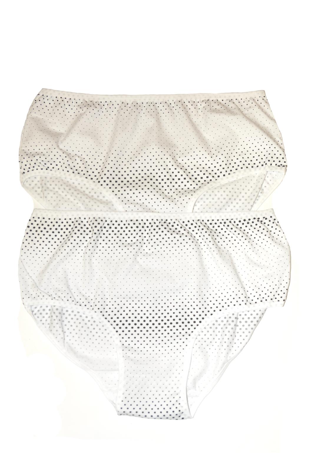 Dámské kalhotky Donella 25357 A'2 - Bílá/XL