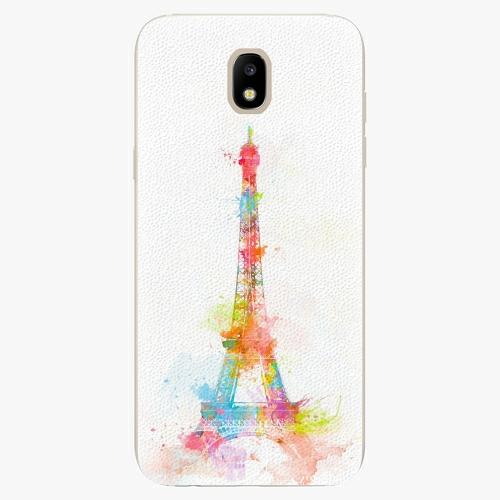 Silikonové pouzdro iSaprio - Eiffel Tower - Samsung Galaxy J5 2017