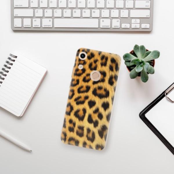 Odolné silikonové pouzdro iSaprio - Jaguar Skin - Huawei Honor 8A