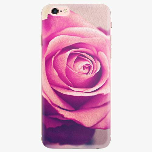 Silikonové pouzdro iSaprio - Pink Rose - iPhone 7